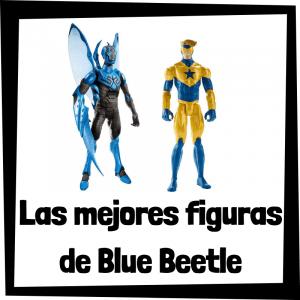 Figuras de colección de Blue Beetle y Booster Gold - Las mejores figuras de colección de Blue Beetle
