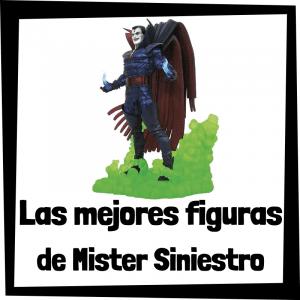 Figuras de colección de Mister Siniestro - Las mejores figuras de colección de villanos de Spiderman