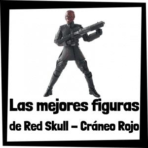 Figuras de Cráneo Rojo - Red Skull