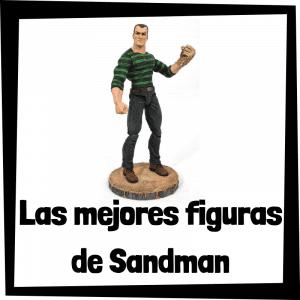 Figuras de colección de Sandman - Las mejores figuras de colección de villanos de Spiderman