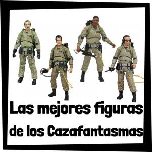Figuras coleccionables de los Cazafantasmas
