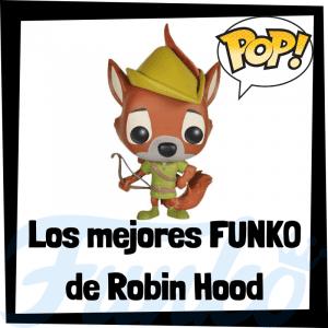 Los mejores FUNKO POP de personajes de Robin Hood - Funko POP de películas de Disney