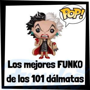 Los mejores FUNKO POP de personajes de los 101 Dálmatas - Cruella de Vil - Funko POP de películas de Disney
