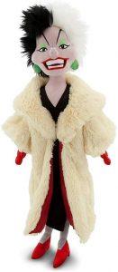 Peluche y muñeco de Cruella de Vil 2 - Peluches, juguetes y muñecos de los 101 Dálmatas - Muñecos de Disney
