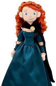 Peluche y muñeco de Mérida - Peluches, juguetes y muñecos de Brave - Muñecos de Disney