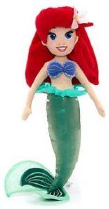 Peluche y muñeco de la Sirenita de Ariel - Peluches, juguetes y muñecos de la Sirenita - Muñecos de Disney