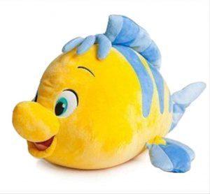 Peluche y muñeco de la Sirenita de Flounder - Peluches, juguetes y muñecos de la Sirenita - Muñecos de Disney