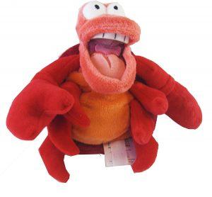 Peluche y muñeco de la Sirenita de Sebastian - Peluches, juguetes y muñecos de la Sirenita - Muñecos de Disney