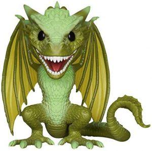 Figura FUNKO POP de Rhaegal de Juego de Tronos - Muñecos de Juego de Tronos de dragón Rhaegal