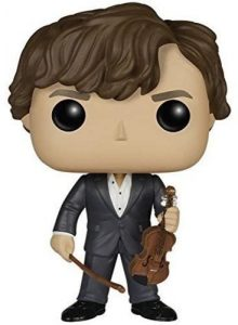 Figura FUNKO POP de Sherlock Holmes con violín de Sherlock - Muñecos de Sherlock Holmes