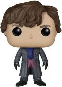 Figura FUNKO POP de Sherlock Holmes de Sherlock - Muñecos de Sherlock Holmes