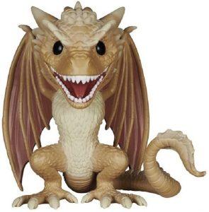 Figura FUNKO POP de Viserion de Juego de Tronos - Muñecos de Juego de Tronos de dragón Viserion