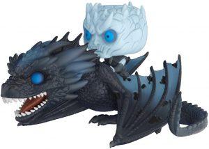 Figura FUNKO POP de Viserion y el Rey de la Noche de Juego de Tronos - Muñecos de Juego de Tronos de dragón Viserion