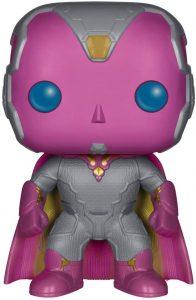 Figura FUNKO POP de Vision de la Era de Ultron - Muñecos de Visión de Marvel