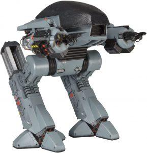 Figura Sideshow de ED-209 de NECA - Figuras coleccionables de Robocop - Muñecos Sideshow Hot Toys de Robocop de películas