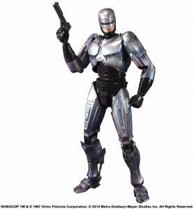 Figura Sideshow de Robocop de Play Arts - Figuras coleccionables de Robocop - Muñecos Sideshow Hot Toys de Robocop de películas
