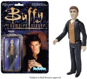 Figura de Angel de Buffy Cazavampiros de ReAction - Muñecos de Buffy Cazavampiros - Figuras coleccionables de Buffy Cazavampiros