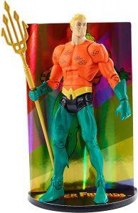Figura de Aquaman de DC Comics Multiverse Super Friends - Las mejores figuras de acción de Aquaman de DC - Muñecos de Aquaman
