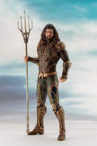 Figura de Aquaman de Kotobukiya - Las mejores figuras de acción de Aquaman de DC - Muñecos de Aquaman