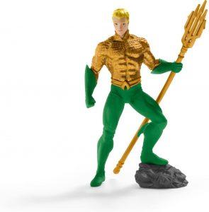 Figura de Aquaman de Schleich - Las mejores figuras de acción de Aquaman de DC - Muñecos de Aquaman
