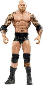 Figura de Batista de Mattel 4 - Muñecos de Batista - Figuras coleccionables de luchadores de WWE