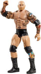 Figura de Batista de Mattel 7 - Muñecos de Batista - Figuras coleccionables de luchadores de WWE