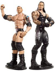Figura de Batista de Mattel y el Enterrador - Muñecos de Batista - Figuras coleccionables de luchadores de WWE