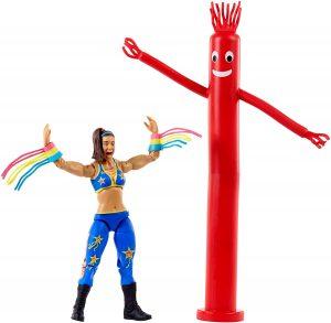 Figura de Bayley de Mattel 4 - Muñecos de Bayley - Figuras coleccionables de luchadores de WWE