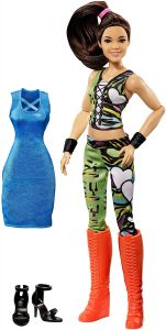 Figura de Bayley de Mattel Barbie 2 - Muñecos de Bayley - Figuras coleccionables de luchadores de WWE