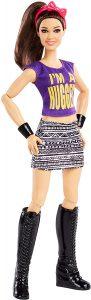 Figura de Bayley de Mattel Barbie - Muñecos de Bayley - Figuras coleccionables de luchadores de WWE