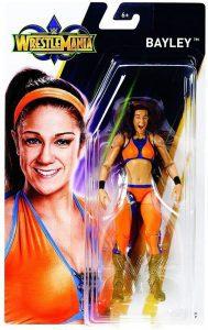 Figura de Bayley de Mattel - Muñecos de Bayley - Figuras coleccionables de luchadores de WWE