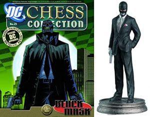 Figura de Black Mask - Máscara Negra de Eaglemoss - Figuras coleccionables de Máscara Negra de Batman - Muñecos de Black Mask