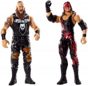 Figura de Braun Strowman y Kane de Mattel - Muñecos de Kane - Figuras coleccionables de luchadores de WWE