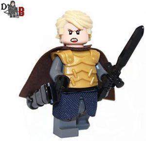 Figura de Brienne de Tarth Lannister de Juego de Tronos de Demonhunter Bricks - Muñecos de Juego de tronos de Brienne de Tarth - Figuras coleccionables de Brienne de Tarth de Game of Thrones