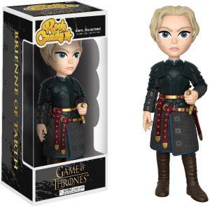 Figura de Brienne de Tarth Lannister de Juego de Tronos de Rock Candy - Muñecos de Juego de tronos de Brienne de Tarth - Figuras coleccionables de Brienne de Tarth de Game of Thrones