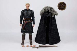 Figura de Brienne de Tarth Lannister de Juego de Tronos de Three Zero Deluxe - Muñecos de Juego de tronos de Brienne de Tarth - Figuras coleccionables de Brienne de Tarth de Game of Thrones