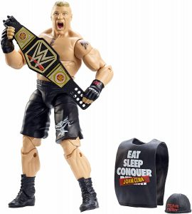 Figura de Brock Lesnar de Mattel 5 - Muñecos de Brock Lesnar - Figuras coleccionables de luchadores de WWE