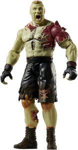 Figura de Brock Lesnar de Mattel Zombie - Muñecos de Brock Lesnar - Figuras coleccionables de luchadores de WWE