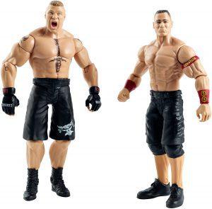Figura de Brock Lesnar de Mattel y John Cena - Muñecos de Brock Lesnar - Figuras coleccionables de luchadores de WWE