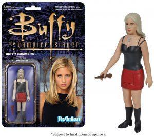 Figura de Buffy de Buffy Cazavampiros de ReAction - Muñecos de Buffy Cazavampiros - Figuras coleccionables de Buffy Cazavampiros