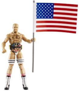Figura de Cesaro de Mattel 3 - Muñecos de Cesaro - Figuras coleccionables de luchadores de WWE