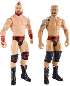 Figura de Cesaro y Sheamus de Mattel 2 - Muñecos de Cesaro - Figuras coleccionables de luchadores de WWE