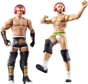 Figura de Cesaro y TYson Kidd de Mattel - Muñecos de Cesaro - Figuras coleccionables de luchadores de WWE