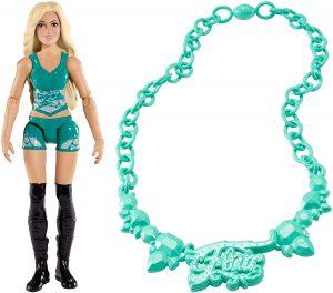 Figura de Charlotte Flair de Mattel Ultimate - Muñecos de Charlotte Flair - Figuras coleccionables de luchadores de WWE
