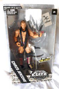 Figura de Chris Jericho de Mattel Elite - Muñecos de Chris Jericho - Figuras coleccionables de luchadores de WWE