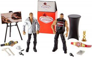 Figura de Chris Jericho de Mattel y Kevin Owens - Muñecos de Chris Jericho - Figuras coleccionables de luchadores de WWE