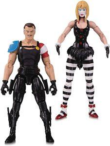 Figura de Comediante y Marioneta de Watchmen de DC - Figuras coleccionables de Watchmen - Muñecos de Watchmen