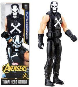Figura de Crossbones de Titan Hero Series - Figuras coleccionables de Crossbones - Muñecos de Crossbones de Marvel