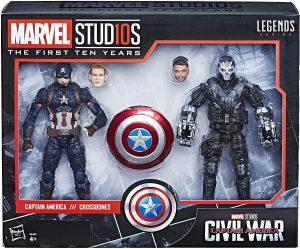Figura de Crossbones vs Capitán América de Marvel Legends - Figuras coleccionables de Crossbones - Muñecos de Crossbones de Marvel