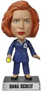 Figura de Dana Scully de Expediente X de Wacky Wobbler - Muñecos de Expediente X - X Files - Figuras coleccionables de Expediente X